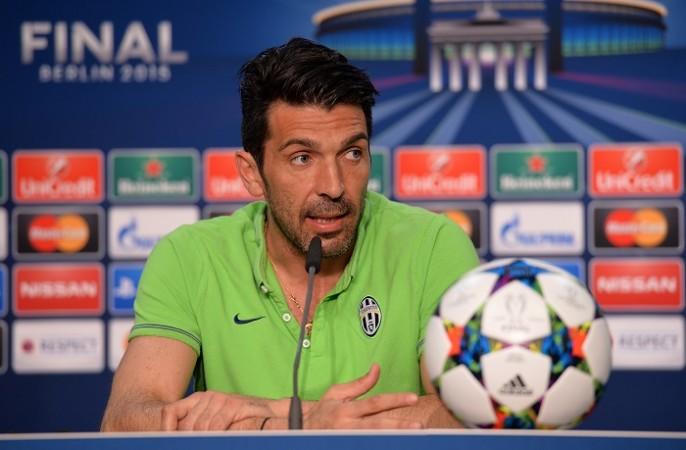 Gianluigi Buffon Juventus Champions League Final 2015