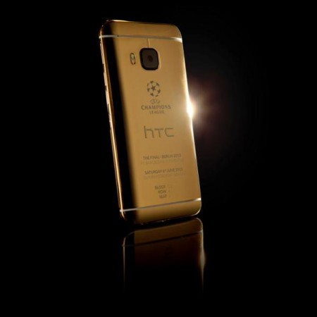HTC's 24-karat Gold Limited Edition One M9 Revealed On Twitter: Deletes Photo Taken Using iPhone 6