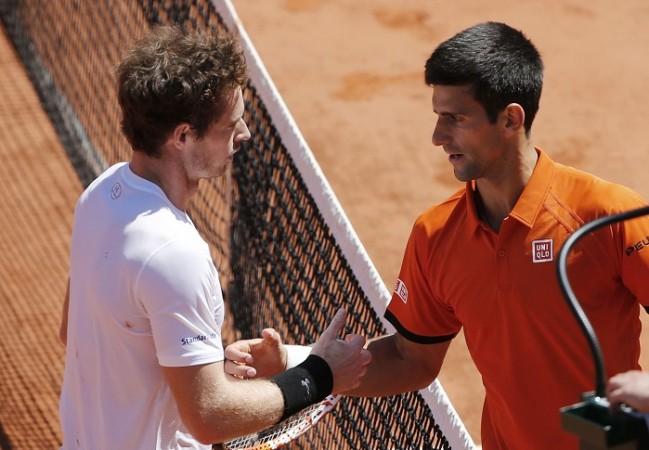 Novak Djokovic Andy Murray French Open 2015 Semifinal