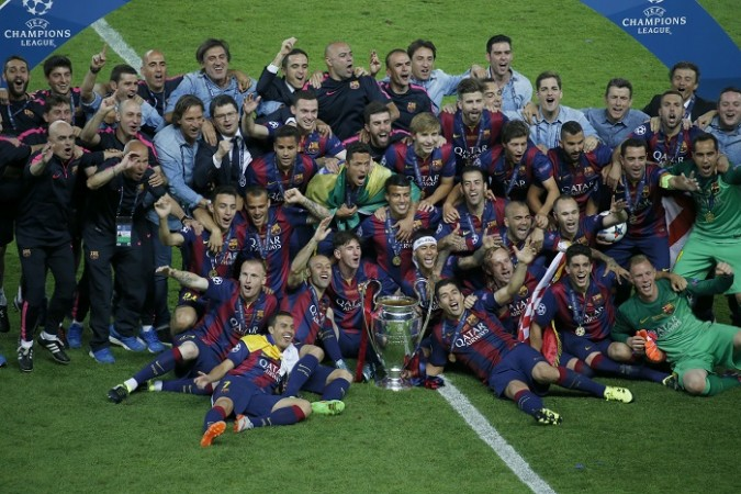 Barcelona Champions League Title Trophy