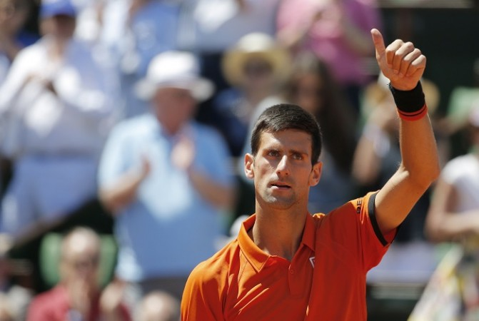 Novak Djokovic Semifinal French Open 2015