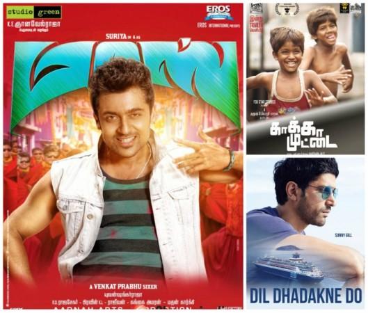 'Masss' Beats 'Dil Dhadakne Do', 'Kaaka Muttai' in Chennai