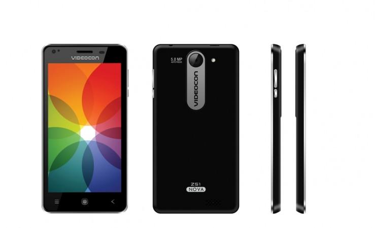 Videocon Launches Infium Z51 Nove Smartphone in India