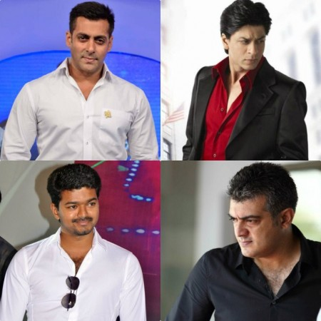 Salman Khan Stands by Shah Rukh-Aamir: Will Ajith or Vijay Ever does it?