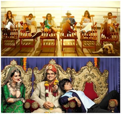'Dil Dhadakne Do', 'Tanu Weds Manu Returns'