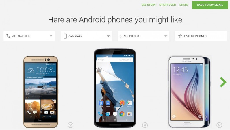 Google Launches Android Smartphone Selector Tool in America [Steps to How to Find Best Phone]