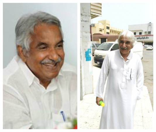 Oommen Chandy and his Look-alike