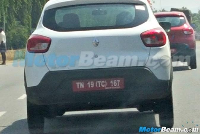 Renault Small Car Kwid Caught Testing