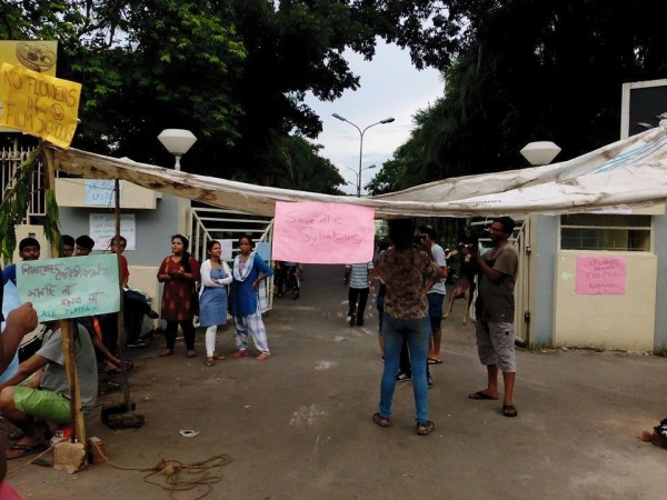 FTII protest
