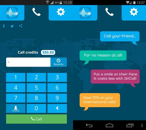 Introducing GV Call App: Say no to expensive international calls and connectivity issues