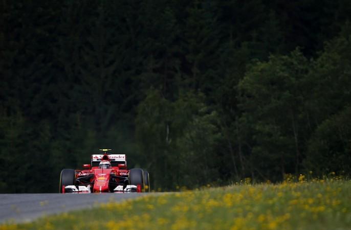 Sebastian Vettel Ferrari Austrian GP