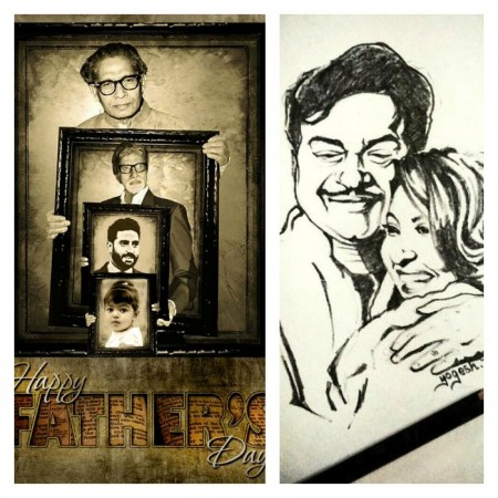 Bollywood Celebs Wish Father's Day
