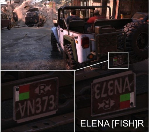 The Uncharted 4 Easter Egg