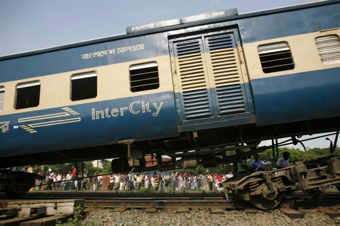 Train Accident in Bangladesh