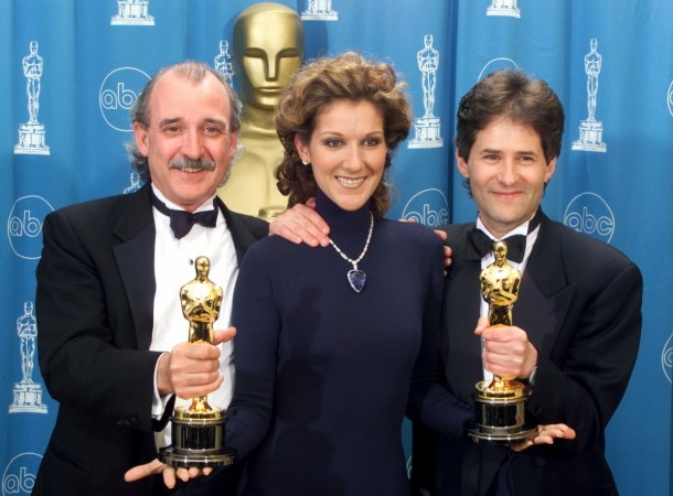 James Horner with Will Jennings and Celine Dion