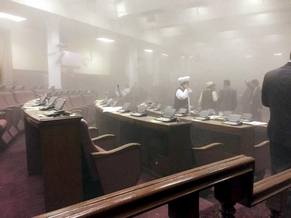 Afghan Parliament attack