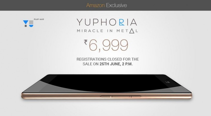 YU Yuphoria Flash Sale 5.0 to go Live on 25 June