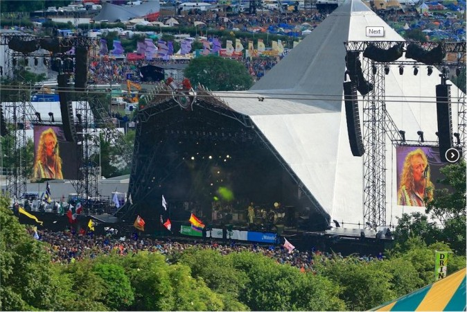 Glastonbury is one of the most popular music festivals in the world