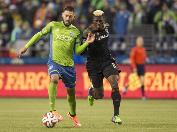 Clint Dempsey Seattle Sounders Los Angeles Galaxy Gyasi Sardes