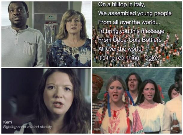 Coca-Cola 'Hilltop' anthem gets a remake