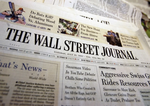 Wall Street Journal to Close India Edition - IBTimes India