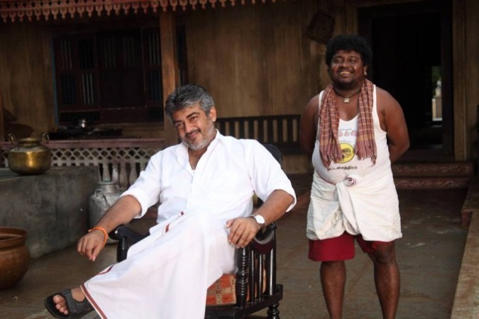 Ajith with Appukutty