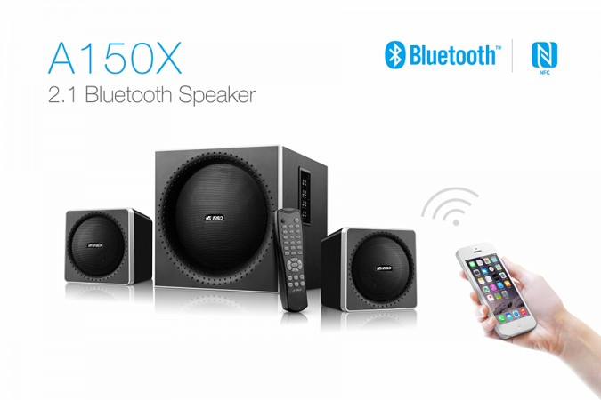 F&D Introduces Bluetooth, NFC Enabled 2.1 Multimedia Speakers A150X