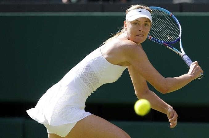 Maria Sharapova Wimbledon 2015 first round