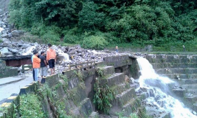 Darjeeling landslide