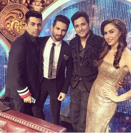 Shahid Kapoor, karan Johar, Ganesh Hegde and Lauren Gottlieb
