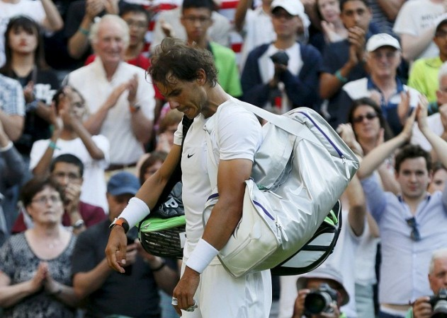 Rafael Nadal Wimbledon 2015 Dustin Brown