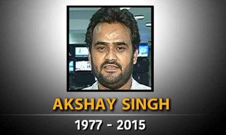 TV journalist Akshay Singh