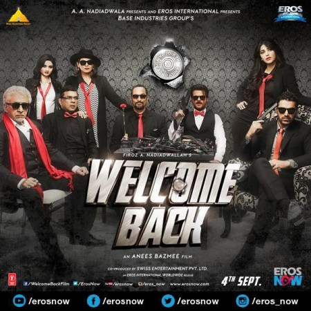 'Welcome Back' Official Poster