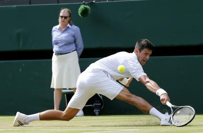 Novak Djokovic Wimbledon 2015
