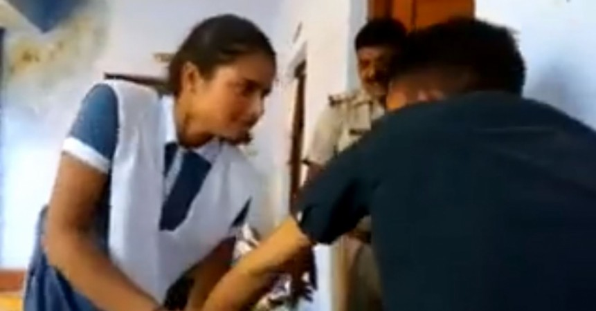 Video of Girl thrashing eve teaser goes viral