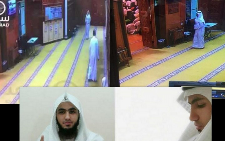 A CCTV footage shared on social media show the Saudi suicide bomber, Fahad Suleiman Abdulmohsen Al Gabbaa, entering the mosque during the Friday prayers on 26 June.