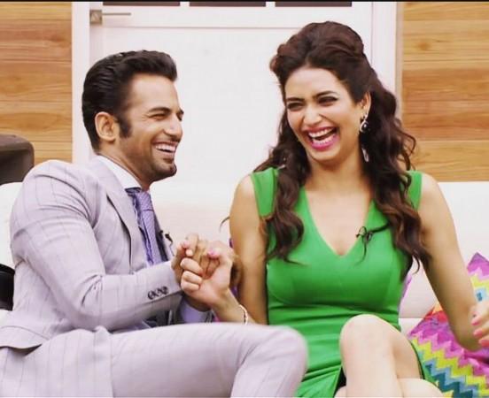 Upen Patel, Karishma Tanna on 'Nach Baliye 7'