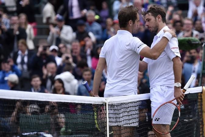Richard Gasquet Stanislas Wawrinka Wimbledon 2015