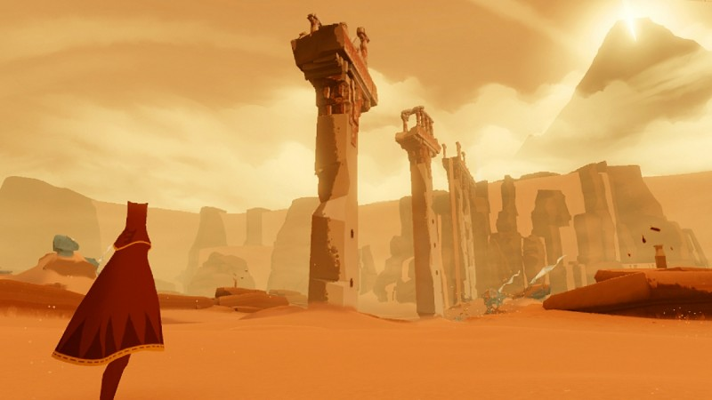 Journey is finally coming to PS4 this July