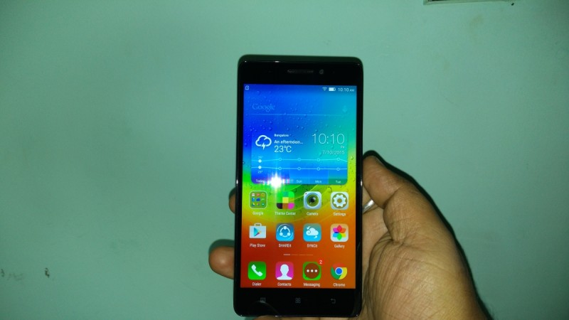 Lenovo K3 Note First Impression- Front View
