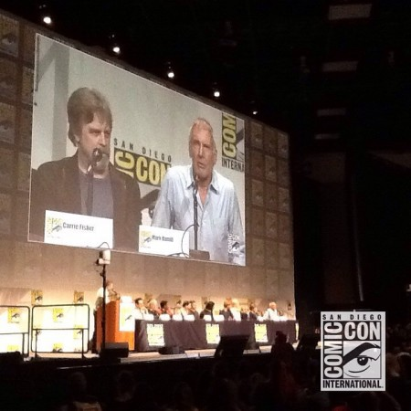 Star Wars panel at Comic Con 2015