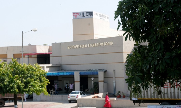 Vyapam or MPPEB office in Bhopal