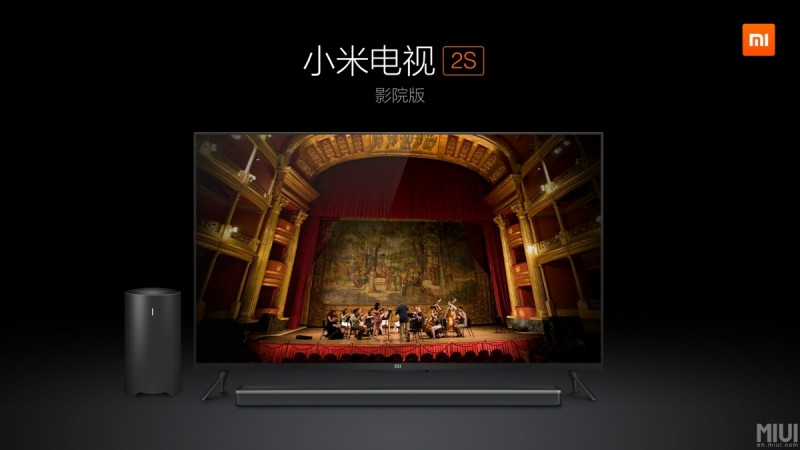 Metal-Clad Ultra-Slim Xiaomi Mi TV 2S
