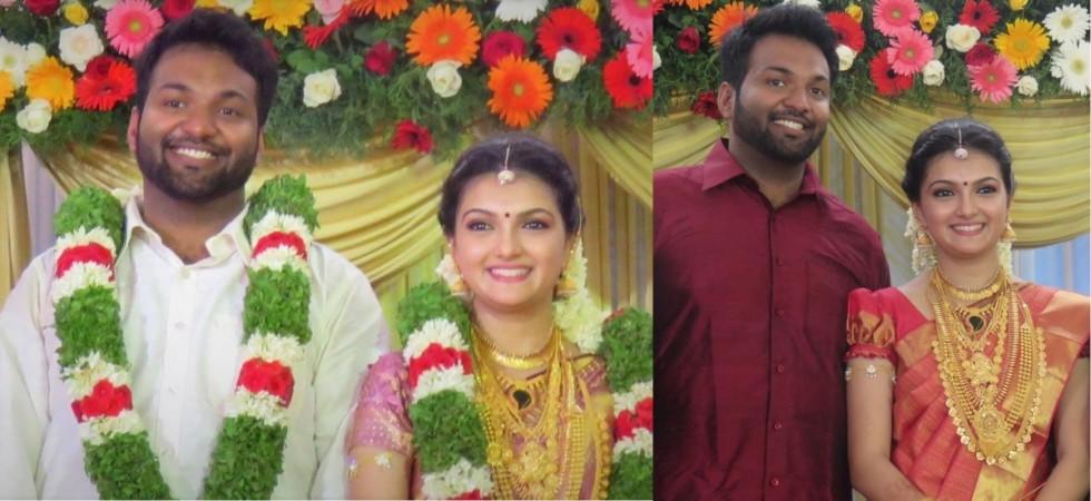 Saranya Mohan Married Aravind Krishnan