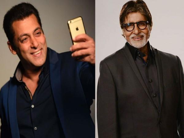 Salman Khan and Amitabh Bachchan