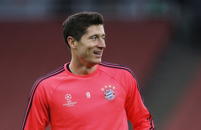Robert Lewandowski Bayern Munich