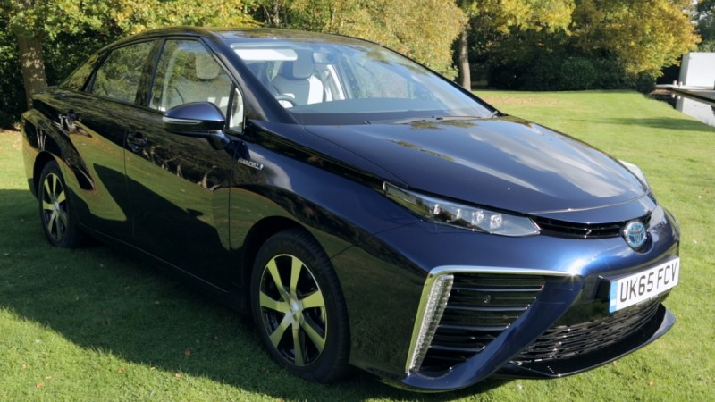 Toyota Mirai: First drive in the £66,000 hydrogen-powered car