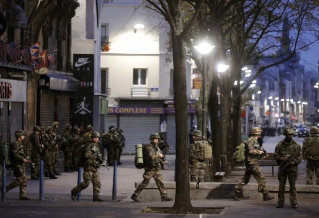 Paris police raid