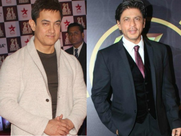 Aamir Khan and Shah Rukh Khan