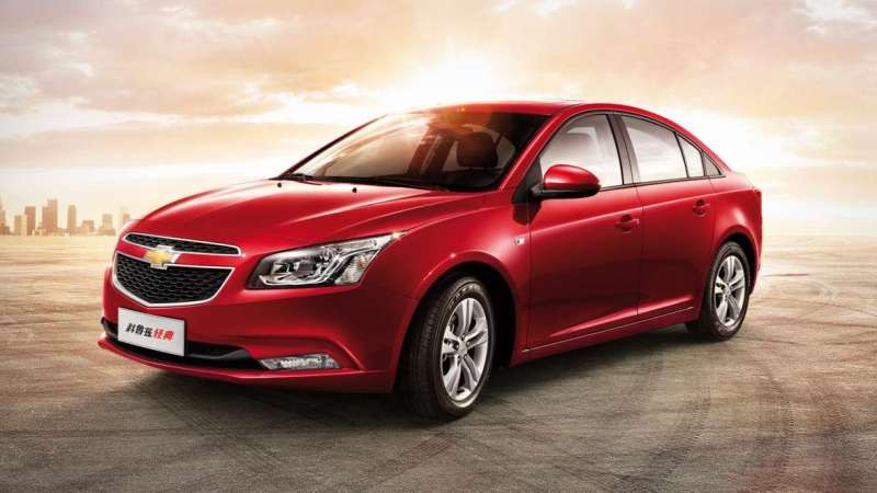 2016 Chevrolet Cruze facelift